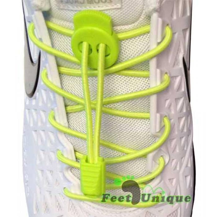 Gule elastik snørebånd