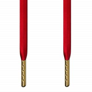 Røde læder snørebånd