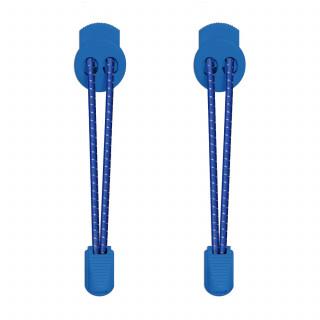 Blå refleks snørebånd