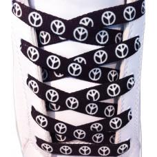 Peace sorte snørebånd