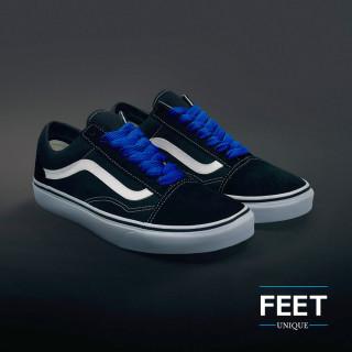 Blå Sneakers snørebånd