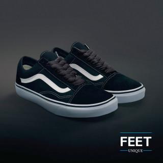 Mørkegrå Sneakers snørebånd