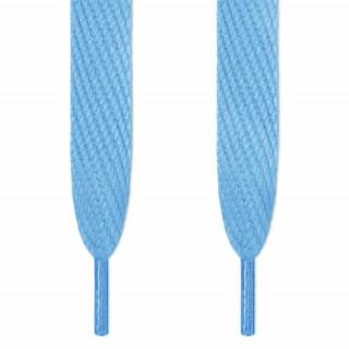 Super brede lyseblå snørebånd
