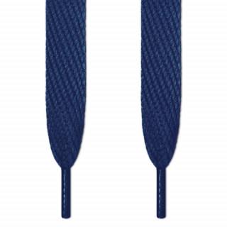 Super brede navy blå snørebånd