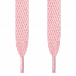 Super brede lyserøde snørebånd