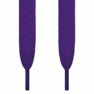 Super brede violette snørebånd