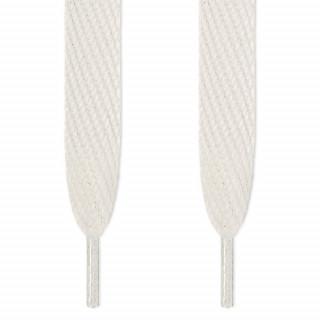 Super brede hvide snørebånd