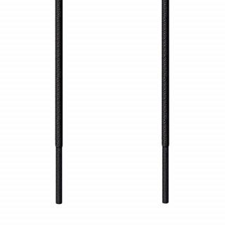 Fine sorte snørebånd