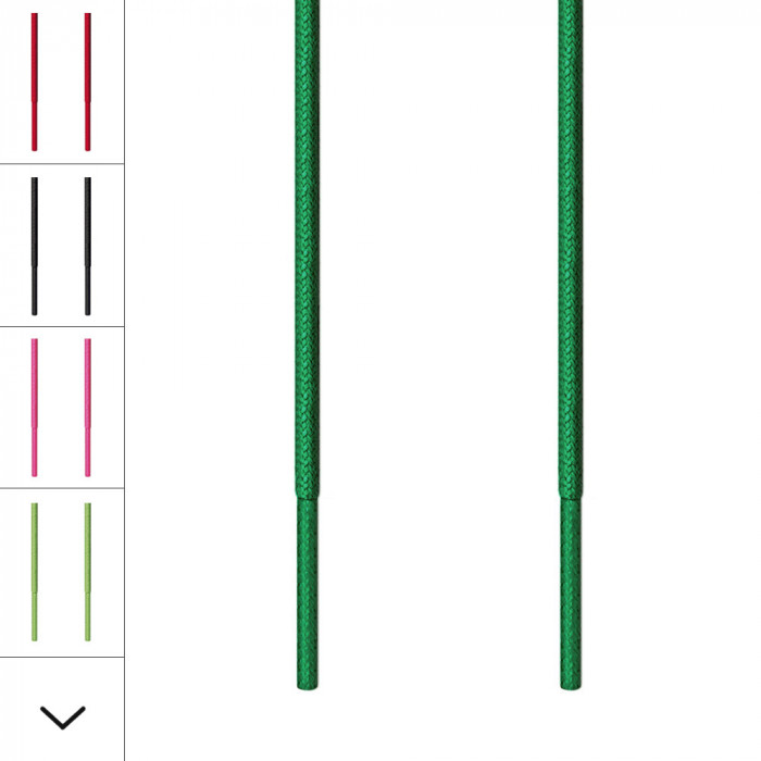 Fine grønne snørebånd