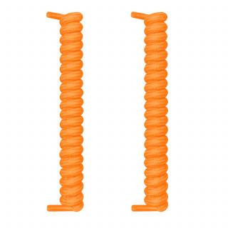 Orange spiral snørebånd
