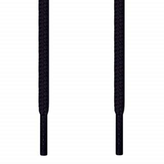 Runde sorte snørebånd