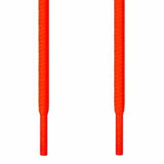 Runde neon orange snørebånd