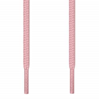 Runde lyserøde snørebånd