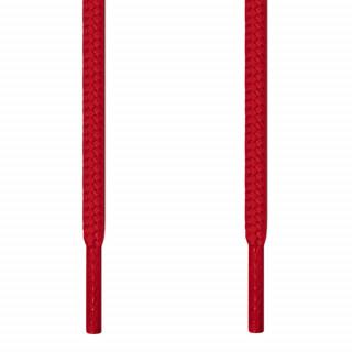 Runde røde snørebånd