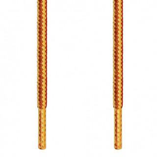 Runde gul & brune snørebånd