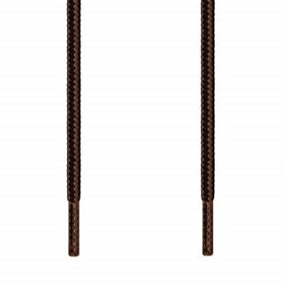Runde sorte & mørkebrune snørebånd