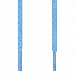 Runde lyseblå snørebånd