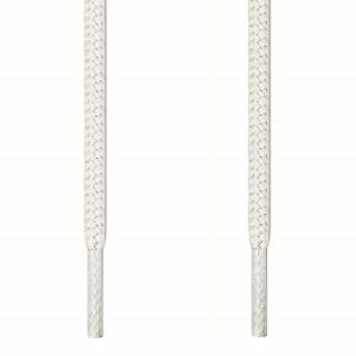 Runde hvide snørebånd