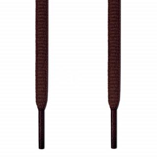 Ovale mørkebrune snørebånd