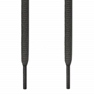 Ovale mørkegrå snørebånd