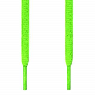 Ovale neon grønne snørebånd