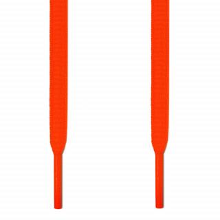 Neon orange ovale snørebånd