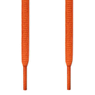 Ovale orange snørebånd