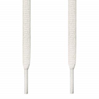 Ovale hvide snørebånd