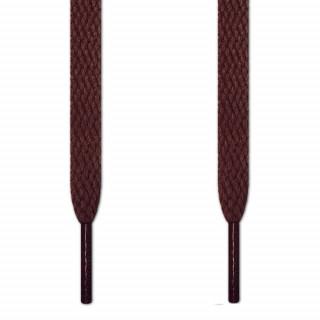 Flade mørkebrune snørebånd