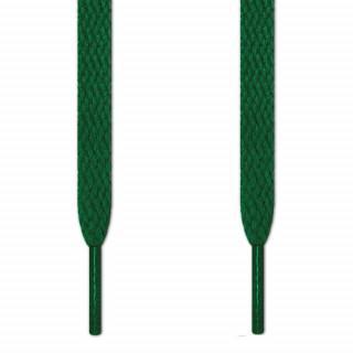 Flade grønne snørebånd