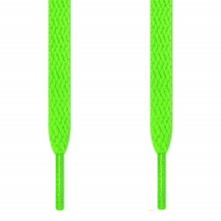 Flade neon grønne snørebånd