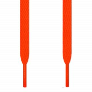 Flade neon orange snørebånd