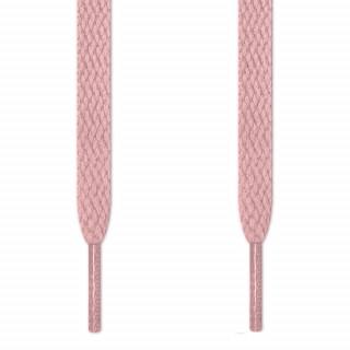 Flade lyserøde snørebånd