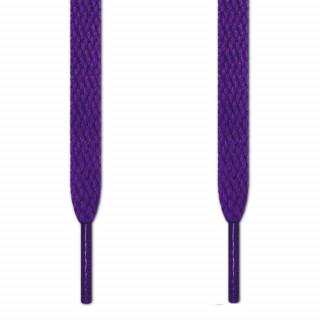 Flade lilla snørebånd