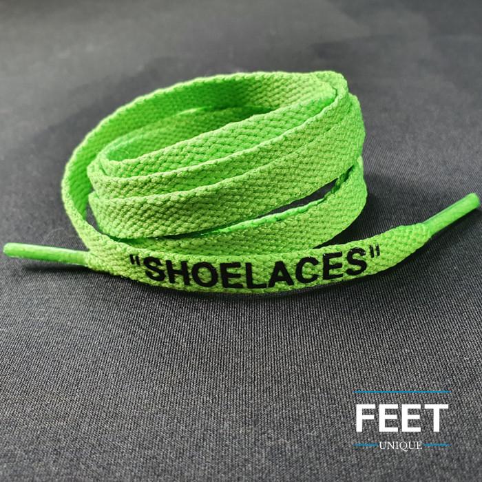 Grønne OFF-WHITE Snørebånd