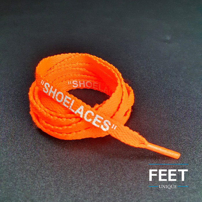 Neon Orange OFF-WHITE Snørebånd