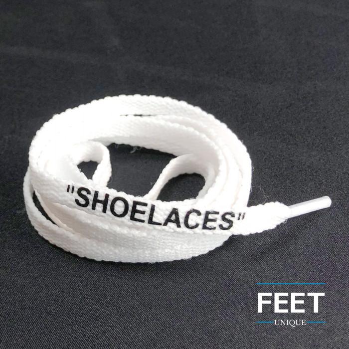 Hvide OFF-WHITE Snørebånd