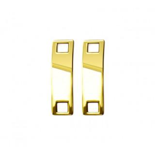 Guld sneaker-smykke