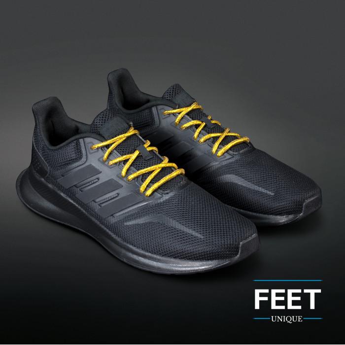 Adidas Yeezy - Snørebånd guld