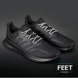 Adidas Yeezy - Snørebånd sort og hvid