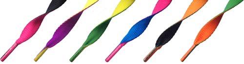 2-Farvet Snørebånd